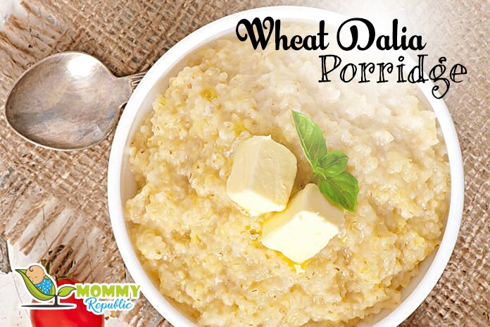 wheat dalia porridge